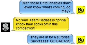 badass chat
