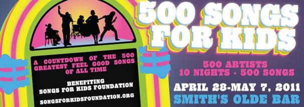 500 songs for kids