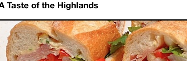 taste of the highlands