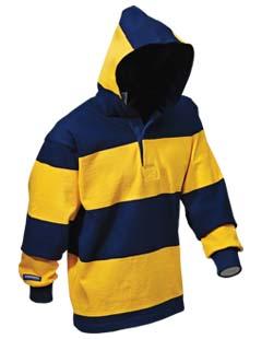 rugby promotional hoodie