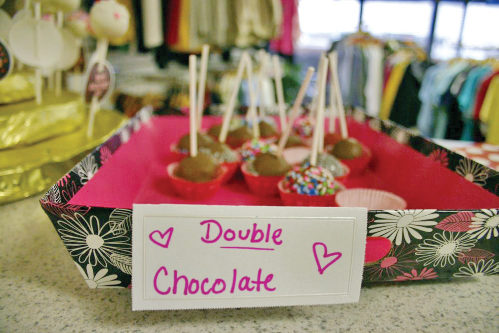 Double Chocolate Cake Pops