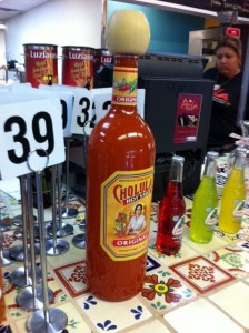 Giant Cholula Bottle