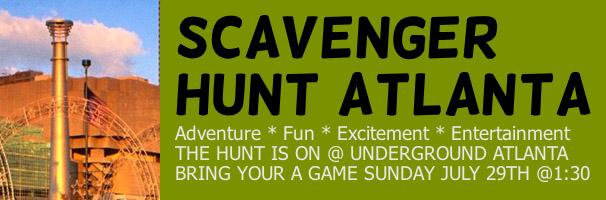 Scavenger Hunt Atlanta