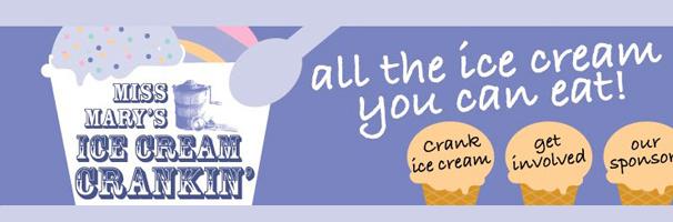 Miss Mary's Ice Cream Crankin'