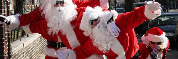 Buckhead Santa Pub Crawl