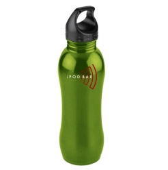 Curvaceous Stainless Steel Custom Sports Bottle