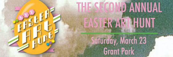 Easter Art Hunt