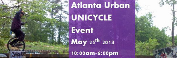 Atlanta Urban Unicycle Event