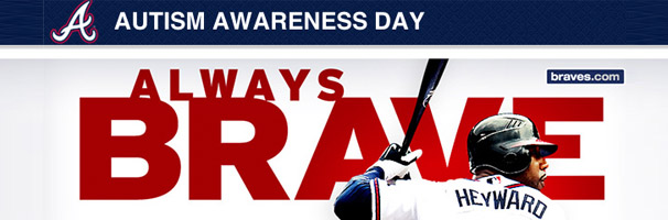 Autism Awareness Day at Turner Field