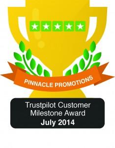 Award from Trustpilot