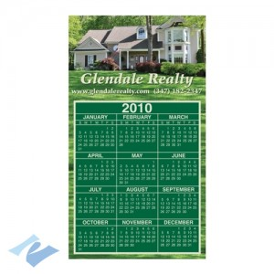 A fixture in the real estate markets, the promotional magnetic calendar can be found on many a refrigerator at the start of the New Year!