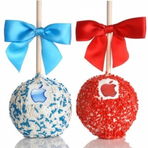 Logo Caramel Chocolate Apple Item #LCCA