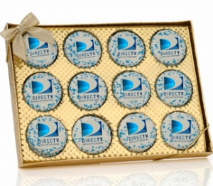 Window Box of 12 Corporate Oreo® Picture Cookies