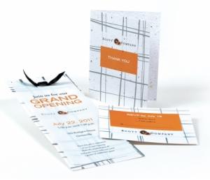 Premium Seed Paper Invitation