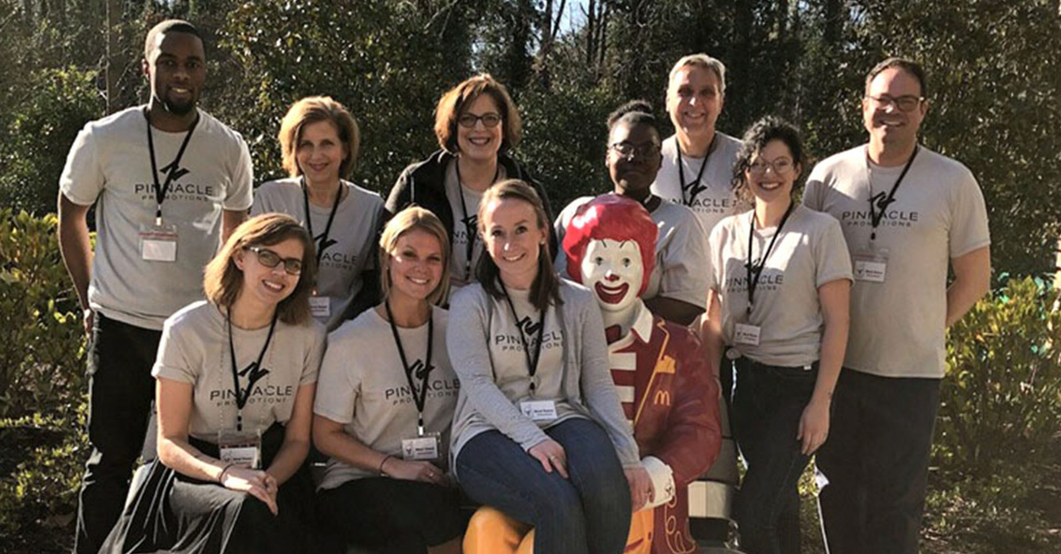 Make the right impression: Pinnacle volunteers at Ronald McDonald House