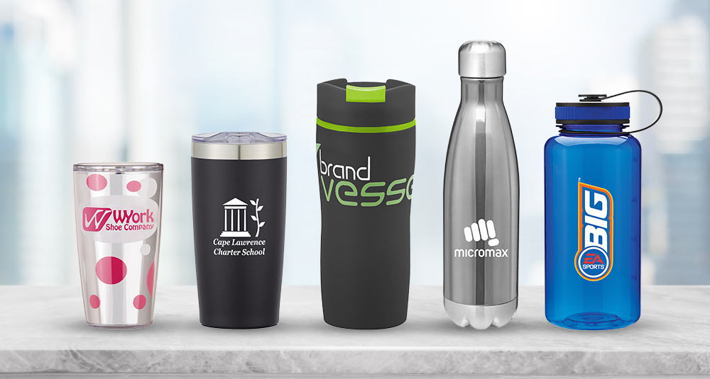 Name-Brand Promotional Drinkware alternatives | Pinnacle Promotions