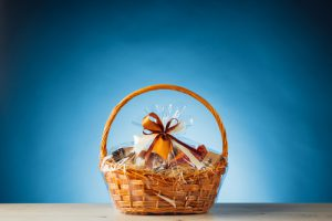 Gift basket | Creating the Ultimate Client Care Package | Pinnacle Promotions