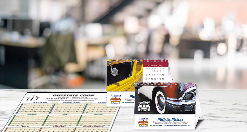 Company Giveaway Favorites: Custom Calendars