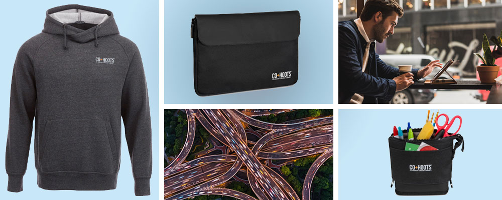 2019 promotional product trends - work on the move | Pinnacle Promotions