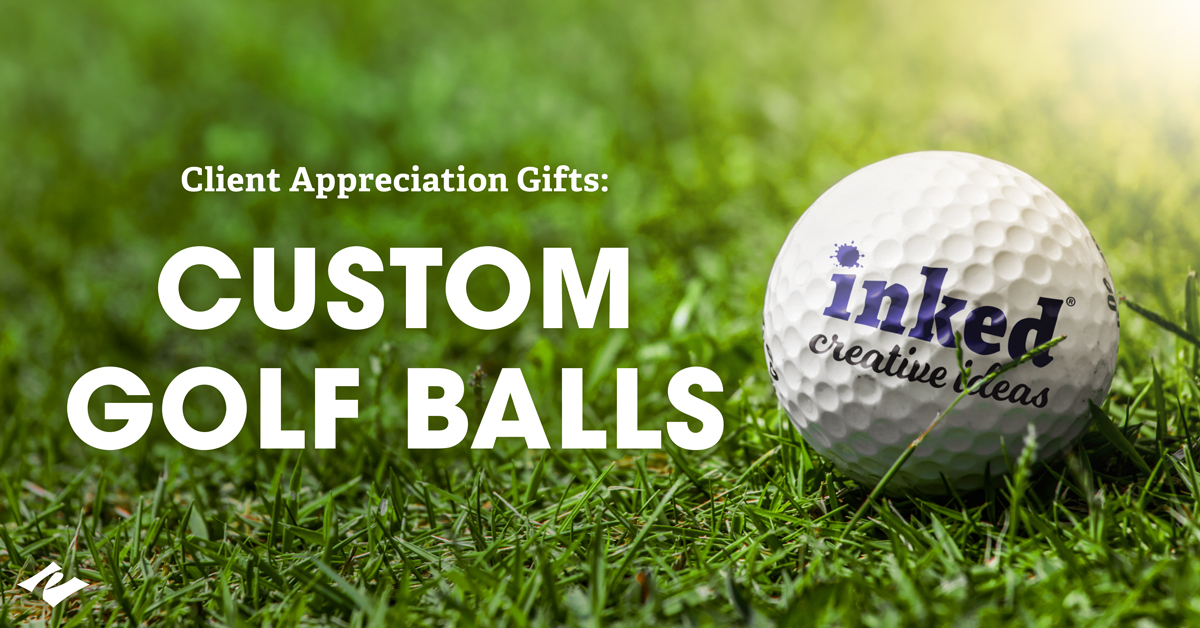 Show Your Clients You Appreciate Them with Custom Golf Balls