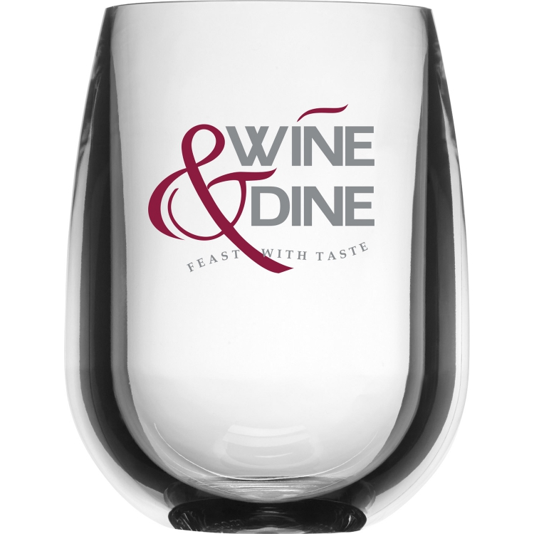 Shatterproof Stemless Wine Glass