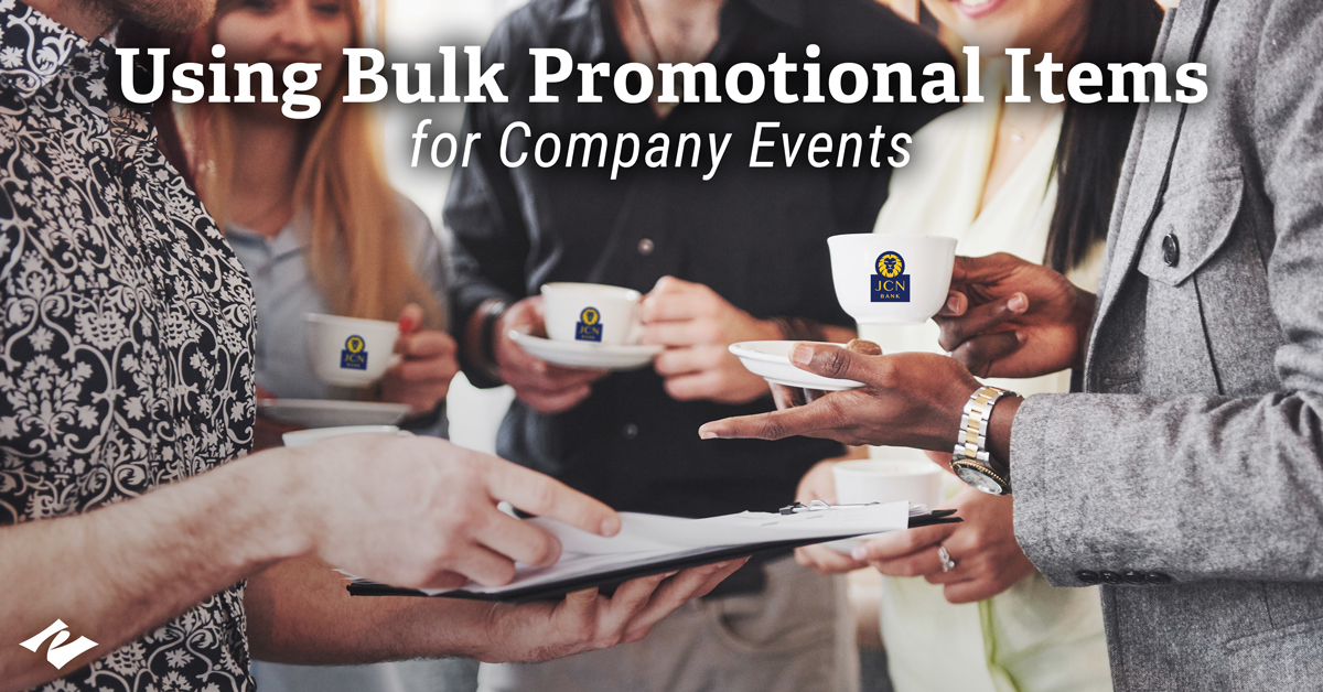 Company Events: A Perfect Place to Use Promo Products