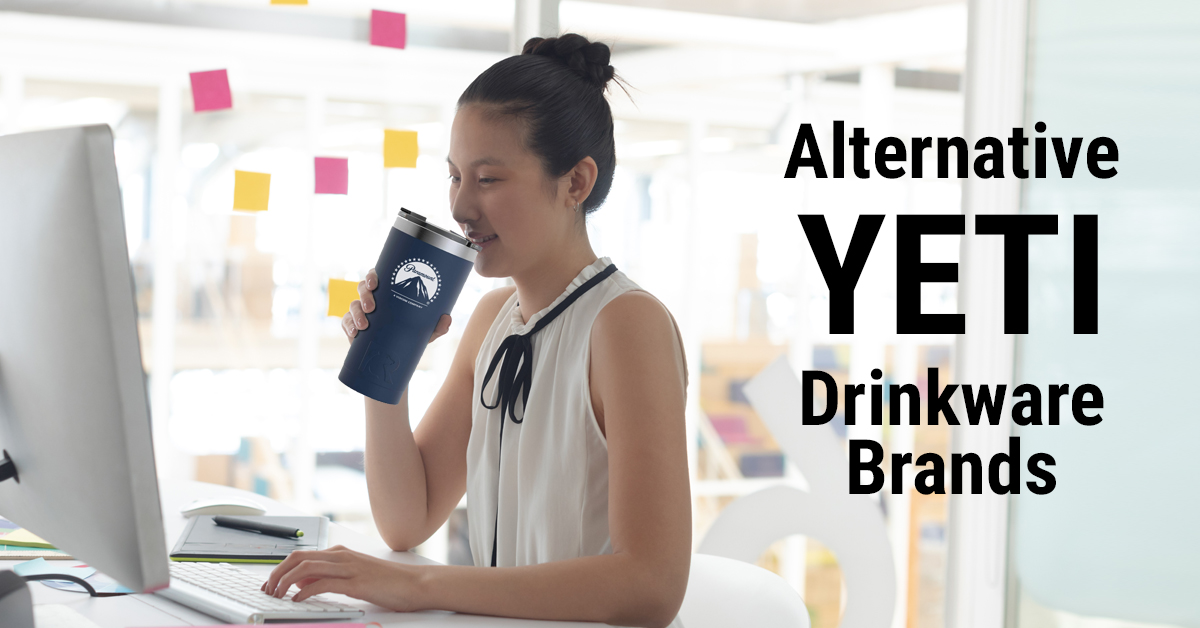 Beverage drinker using an alternative Yeti tumbler