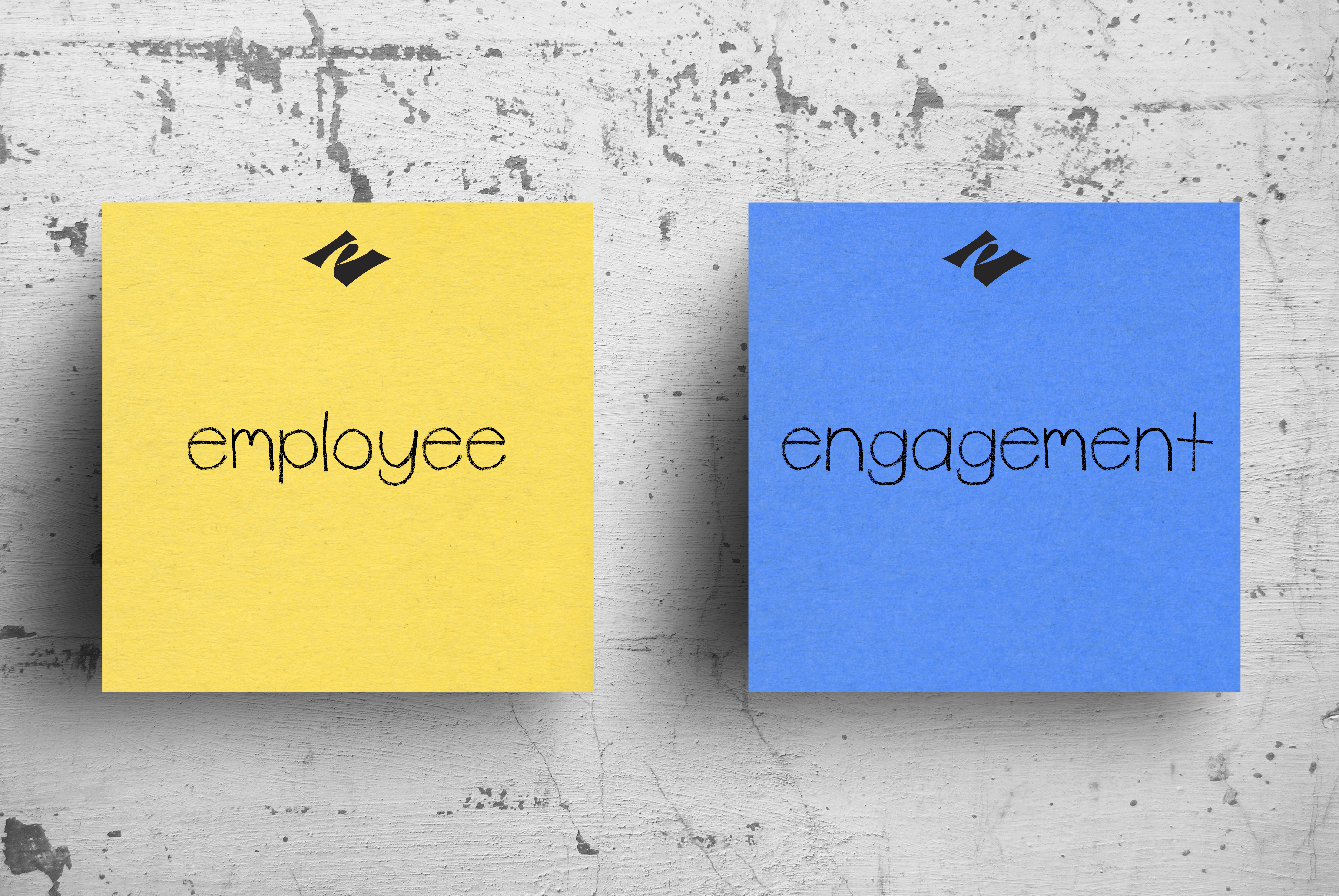 employee engagement sticky notes