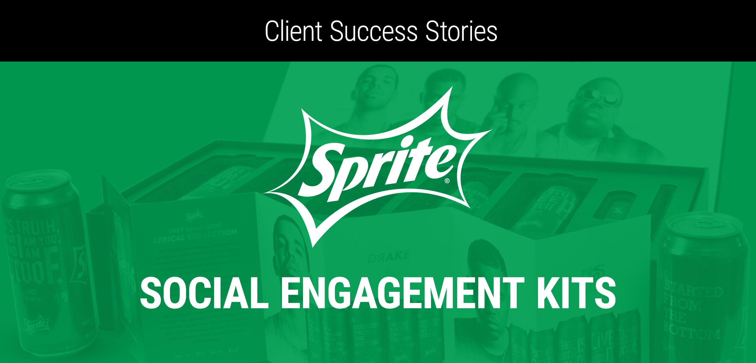 Client Success Story: Sprite Social Engagement Kits