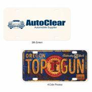 Aluminum Custom License Plate