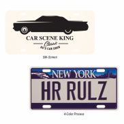 Custom License Plate - 0.75