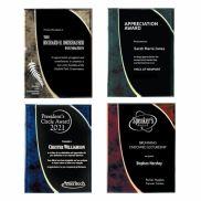 Medium Halley Plaque Award