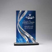 Medium Sweeping Ribbon Award