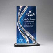 Large Sweeping Ribbon Award