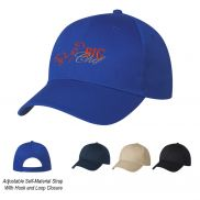 6 Panel Promotional Polyester Cap
