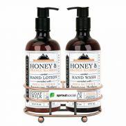 Beekman 1802 Honey & Orange Blossom Soap & Lotion Gift Set