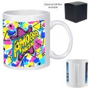 Full Color Stoneware Mug - 11 oz.