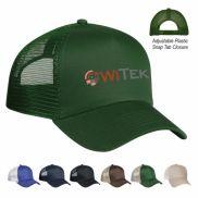 5 Panel Mesh Back Custom Hat