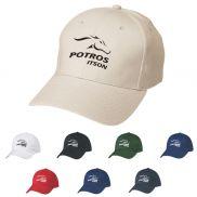 Pinnacle 6-Panel Brushed Custom Hat