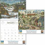 Folk Art Calendar