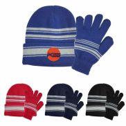 Cuff Beanie & Gloves Set