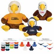 "6"" Liberty Eagle Plush Stuffed Animal"