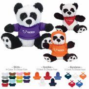 "6"" Big Paw Panda Stuffed Animal"