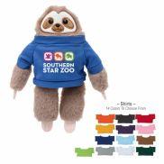 "6"" Sammy Sloth Stuffed Animal"