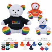 "6"" Rainbow Bear Stuffed Animal"
