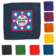 """Hemmed Color Rally Towel - 15"""" x 15"""""""