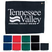 """Hemmed Color Golf Towel - 15"""" x 18"""""""
