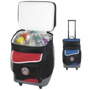 Koozie Two-Compartment Rolling Cooler