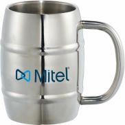 Growl Stainless Barrel Mug - 14 oz.