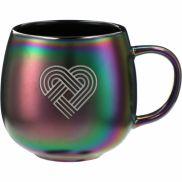Iridescent Ceramic Mug - 15 oz.